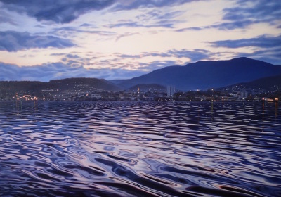 Hobart by night ( finalist Brisbane 2017)